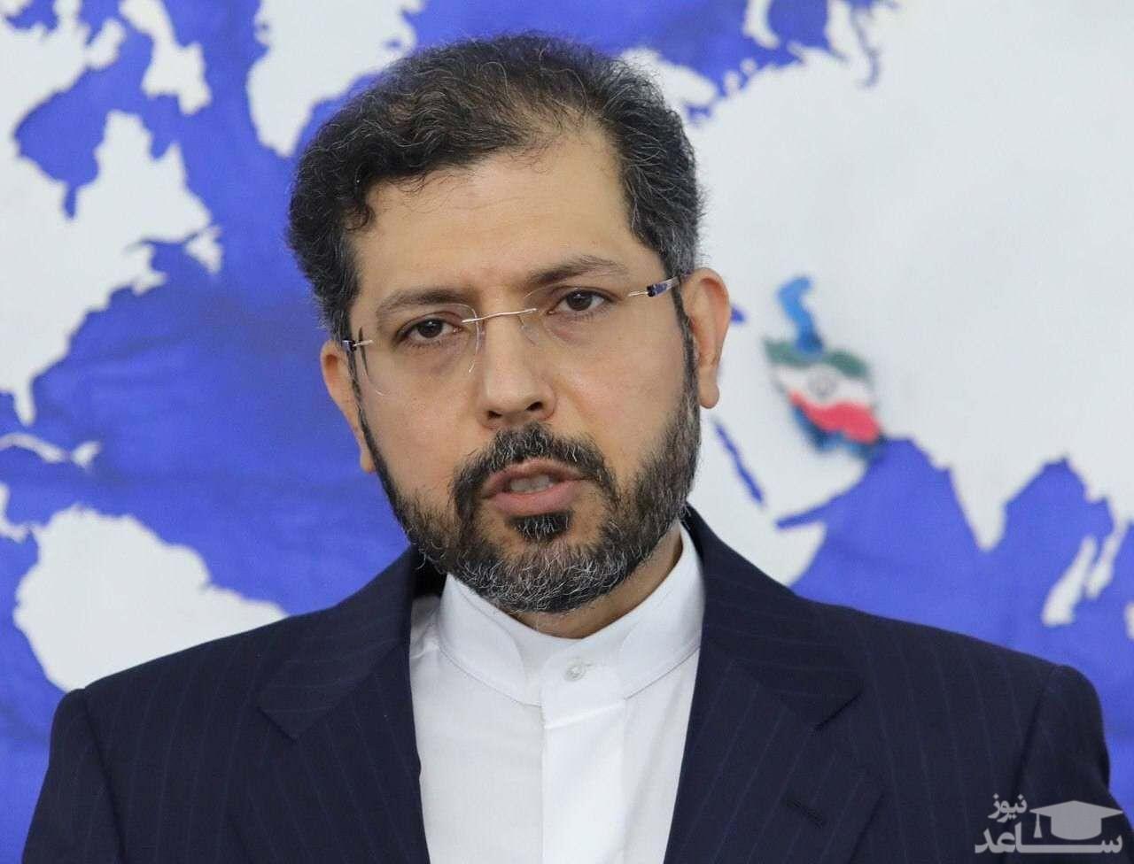 سخنگوی وزارت امورخارجه کشورمان عملیات تروریستی در بغداد را محکوم کرد