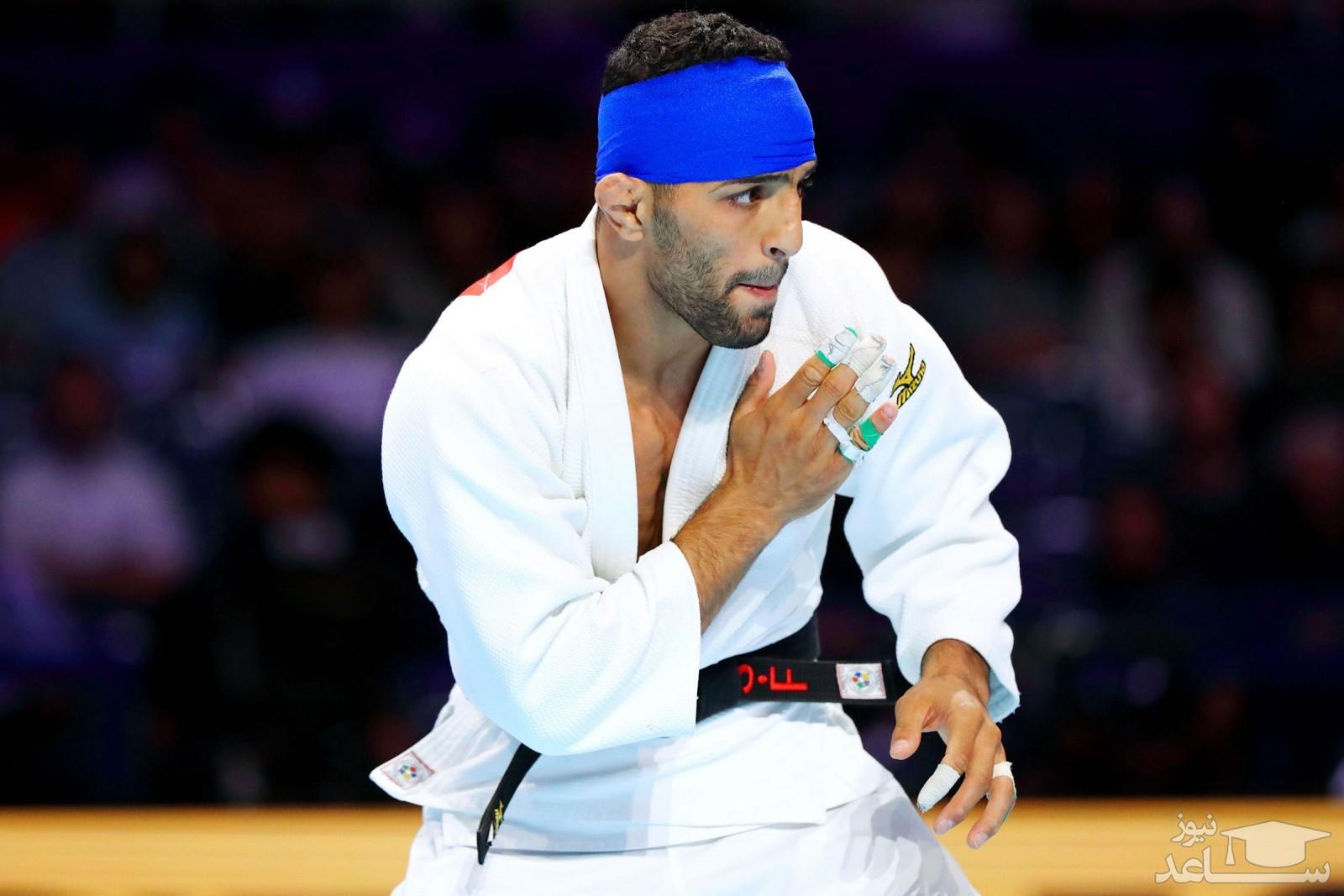 جنجال در حد المپیک: مدالم را به مردم شریف اسرائیل تقدیم می کنم!