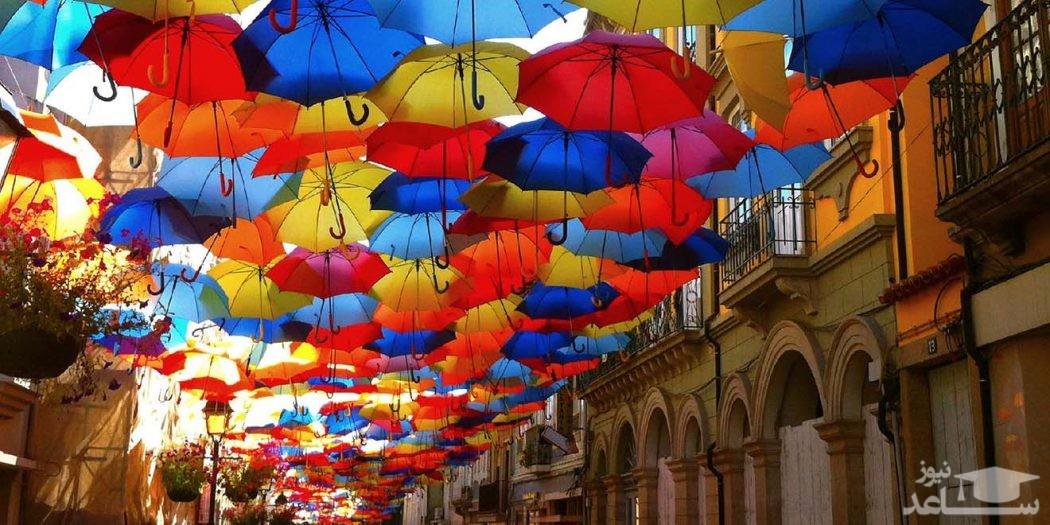 دیدن چتر در خواب چه تعبیری دارد؟ / تعبیر خواب چتر