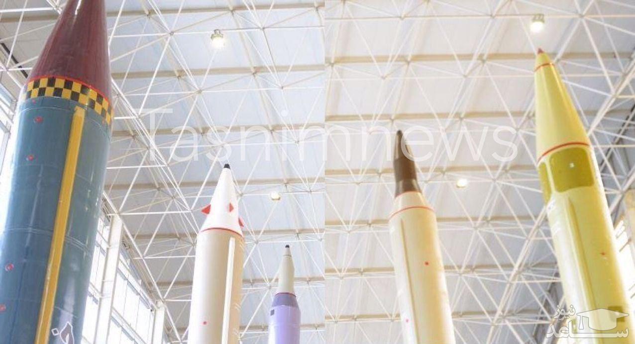 تصویری متفاوت از موشکهای بالستیک ایران با سرجنگی بارانی