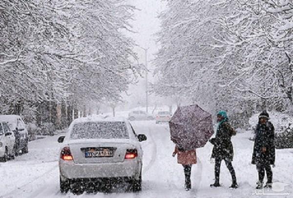 آغاز بارش شدید برف از فردا