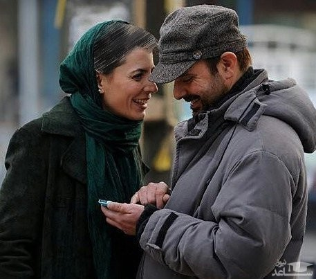 علی مصفا و همسرش