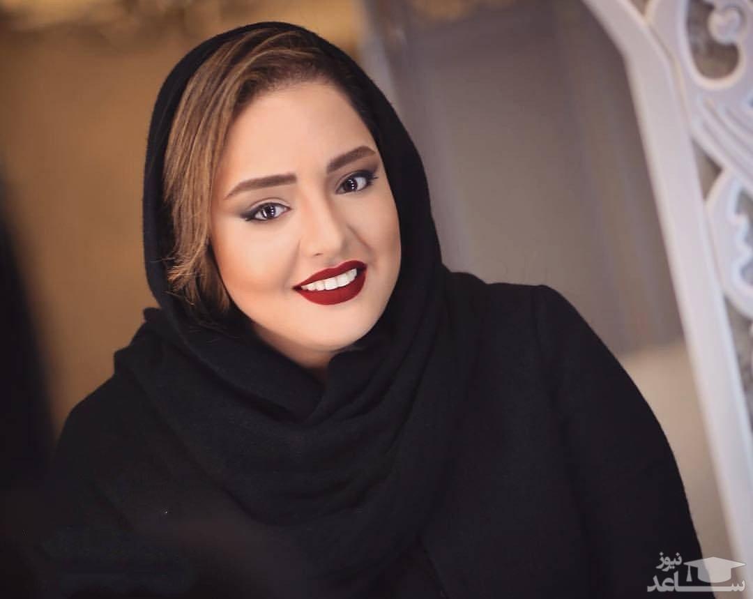 رستوران گردی نرگس محمدی و خواهرش با چهره بدون آرایش
