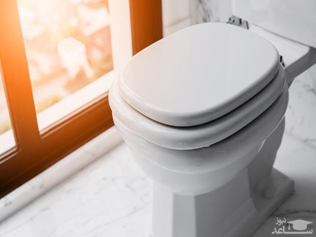 مردی که ۵ روز روی کاسهتوالت نشست تا رکورد بزند!