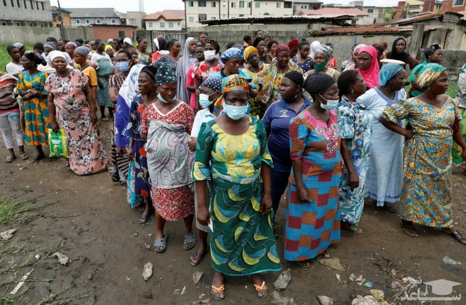 زنان در شهر لاگوس نیجریه