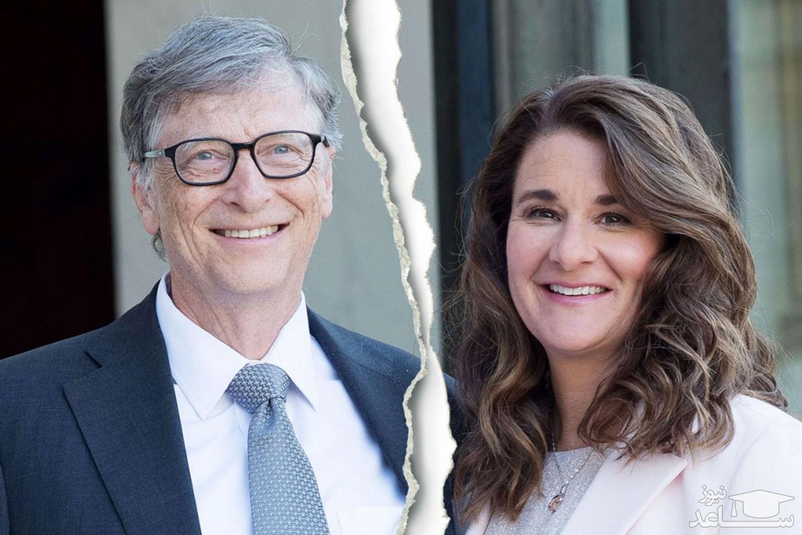 افشاگری از علت طلاق بیل گیتس و همسرش