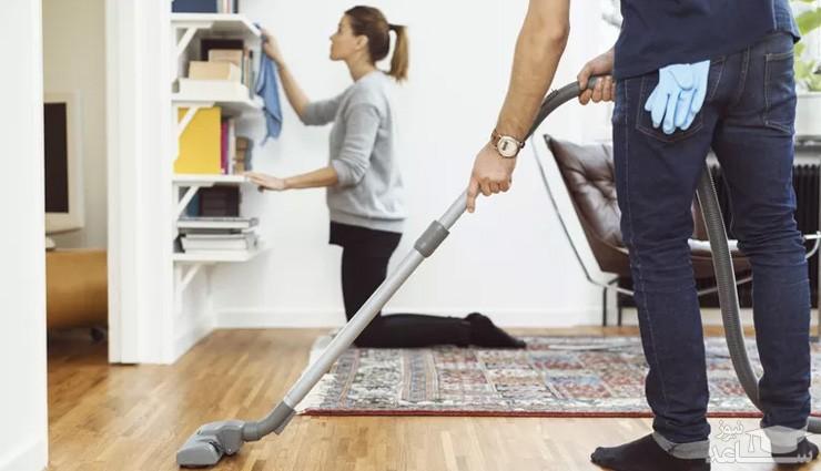 نحوه تقسیم وظایف و کارهای خانه با همسر