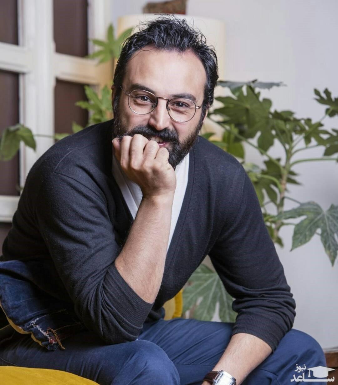 تیپ مافیایی آقایون بازیگر  مشهور در تولد 40 سالگی «کاوه خداشناس»
