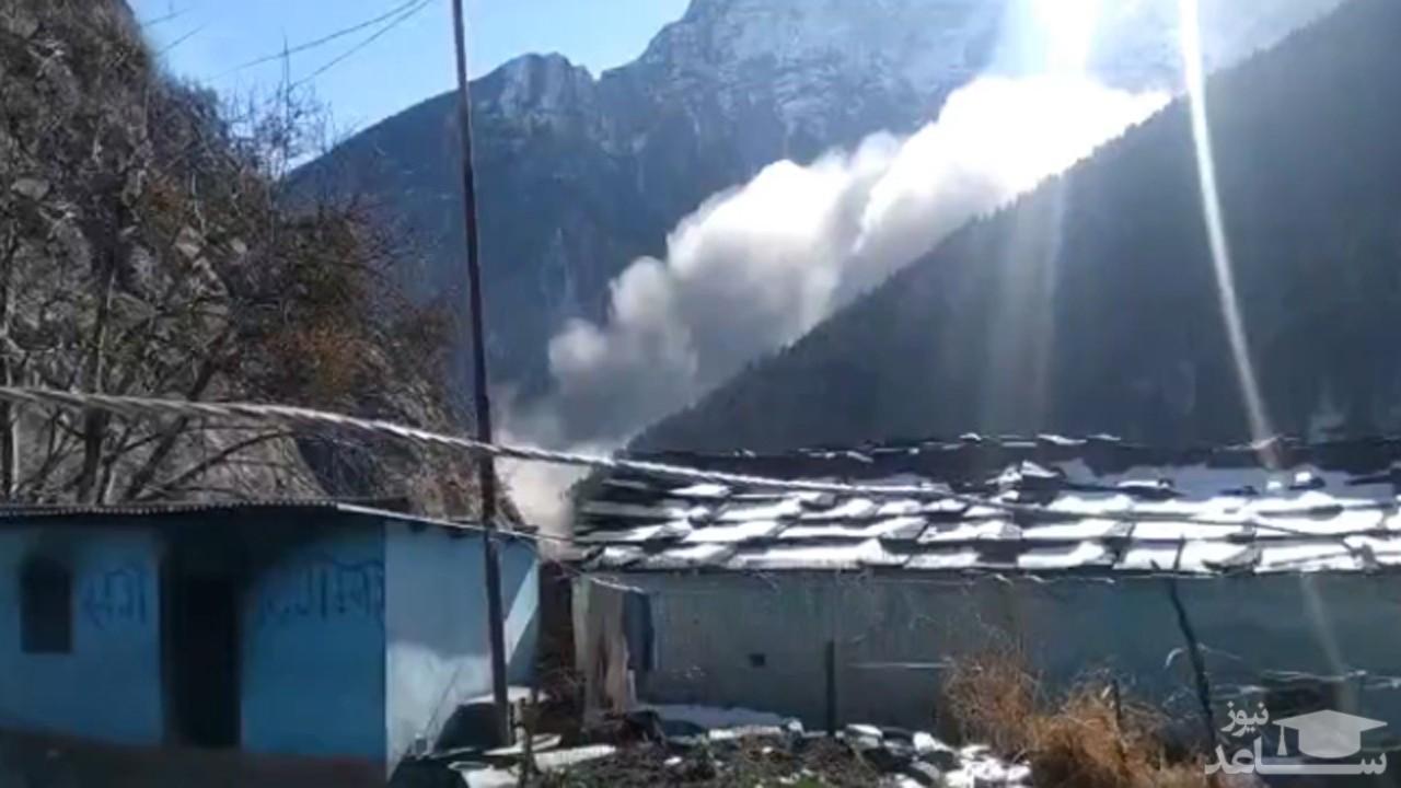 (فیلم) انفجار مرگبار یخچالهای طبیعی در هیمالیا