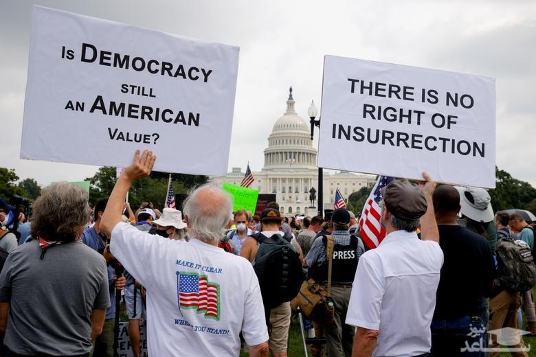 تظاهرات معترضان جمهوریخواه هوادار ترامپ