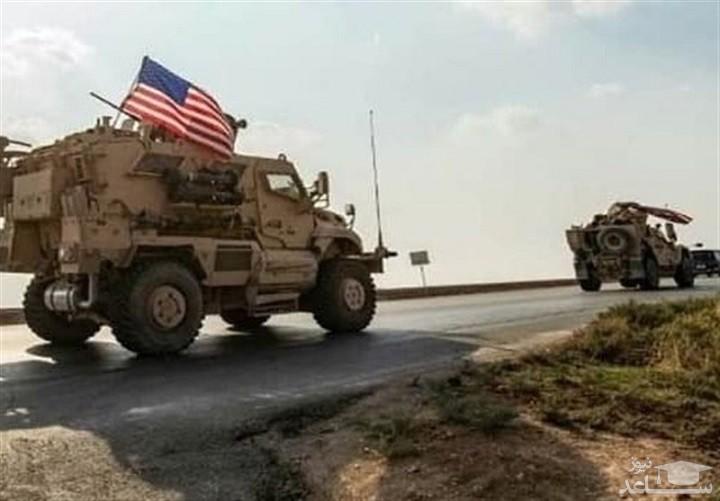 کاروان لجستیک ارتش آمریکا در عراق هدف قرار گرفت