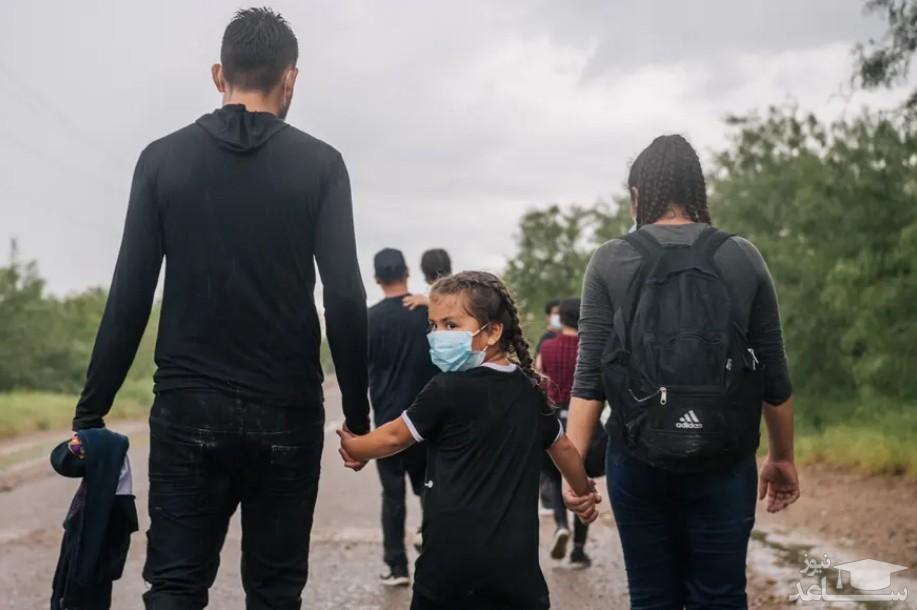 پناهجویان آمریکای مرکزی در راه عزیمت به سمت مرز ایالات متحده آمریکا