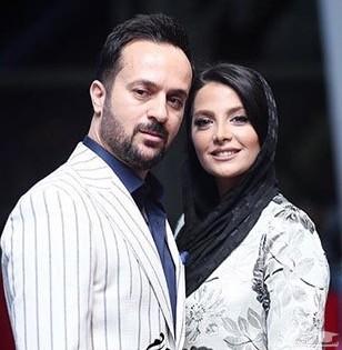 عکس لو رفته از عروسی احمد مهرانفر و همسرش