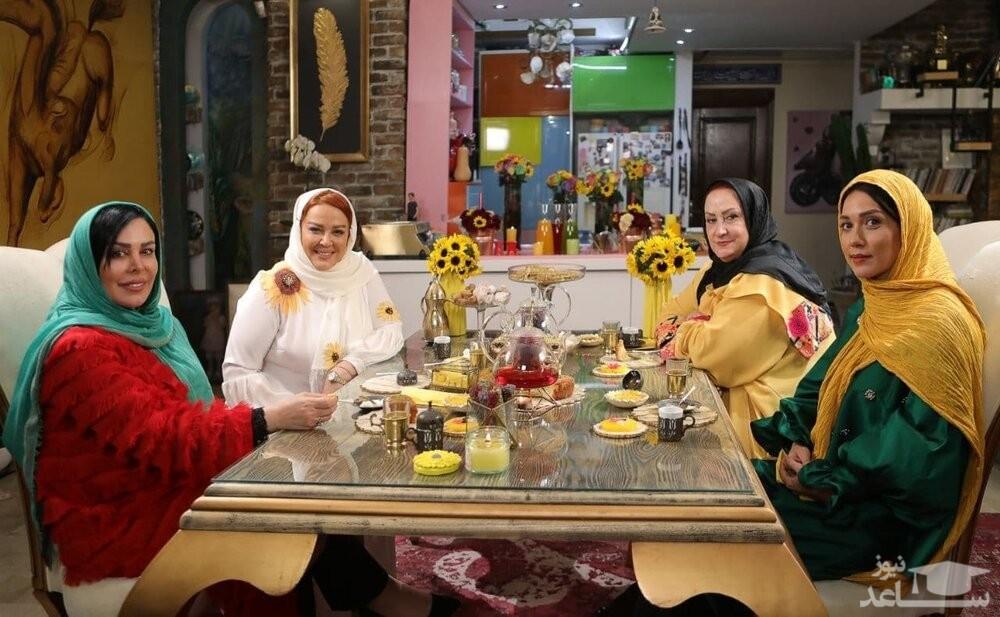 شام ایرانی در منزل بهاره رهنما