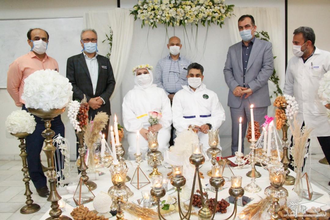 ازدواج زوج پرستار در بیمارستان اهواز
