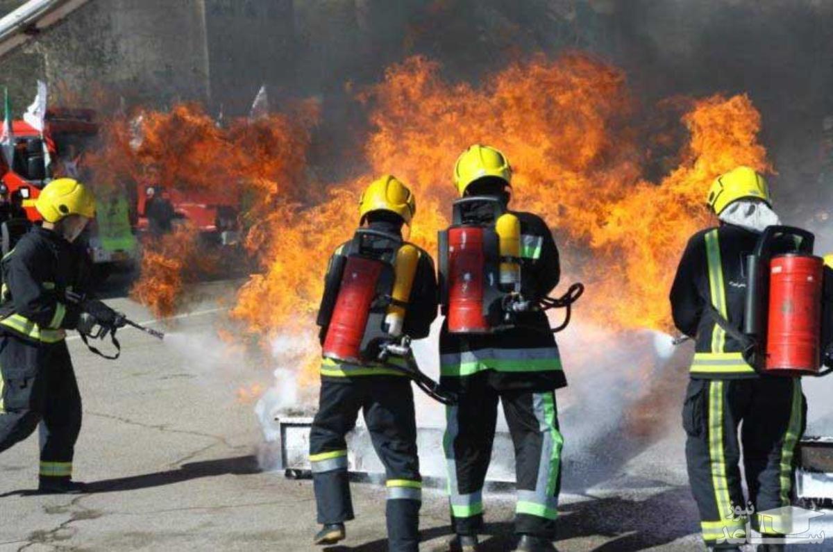 وقوع حریق در انبار سوخت در شمال جده در پی حمله تروریستی