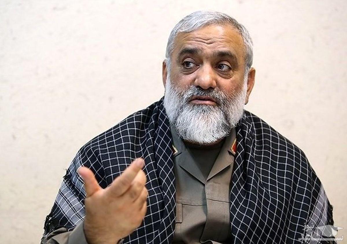اظهارت سردار نقدی در خصوص مسدود شدن صفحه اینستاگرام رئیس عدلیه: تا کی باید تو سری خور باشیم؟