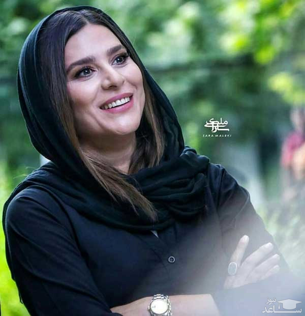 سحر دولتشاهی در لباس عروس