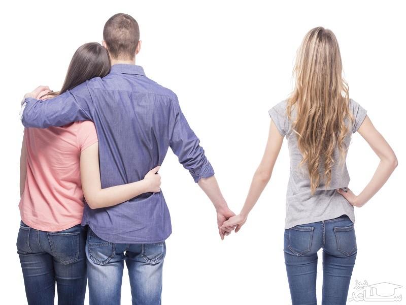 آسیب های رابطه عاطفی با زن یا مرد متاهل