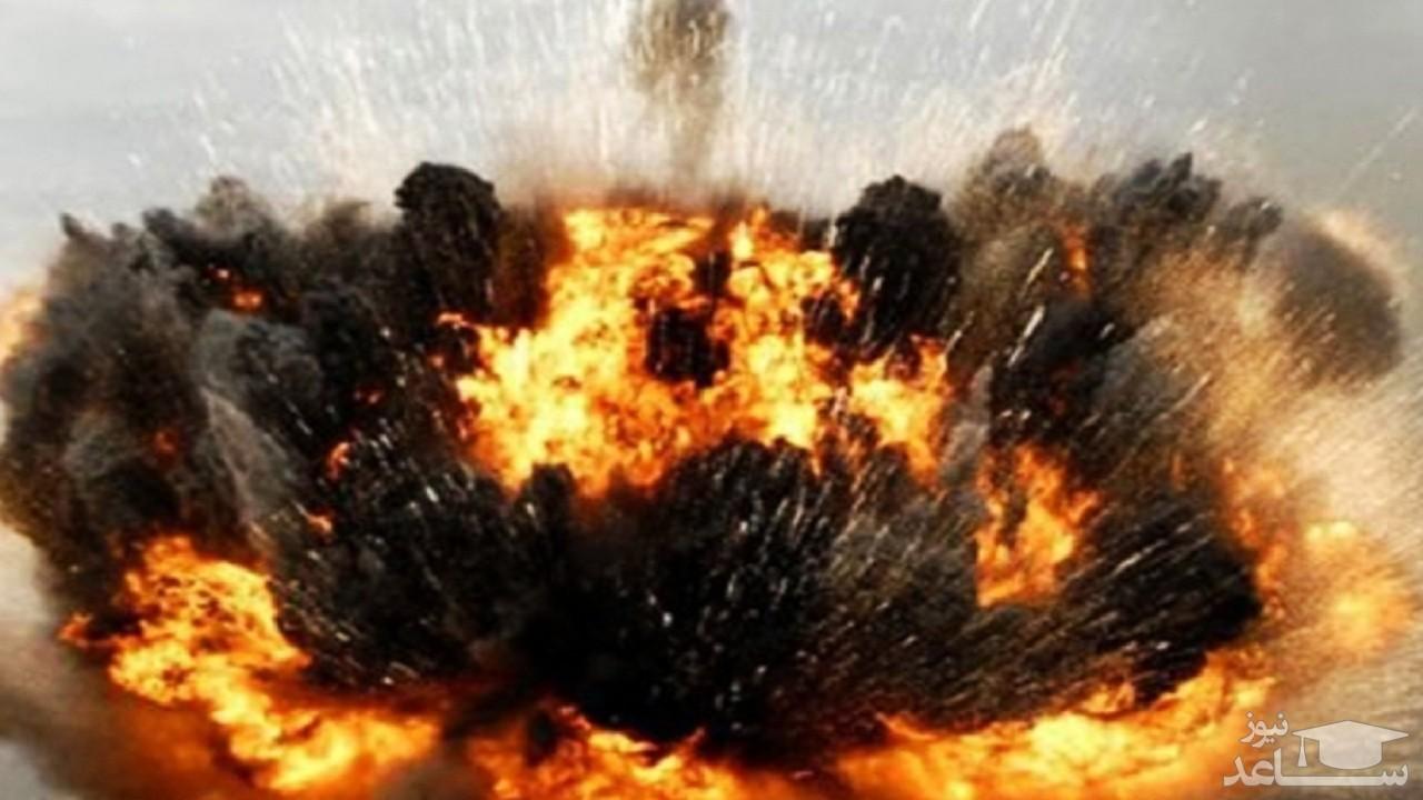 (فیلم) انفجار وحشتناک پمپ بنزین در روسیه