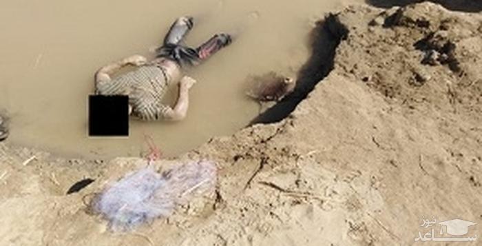 تصویر جسد مرموز جعفر چلداوی در بستان