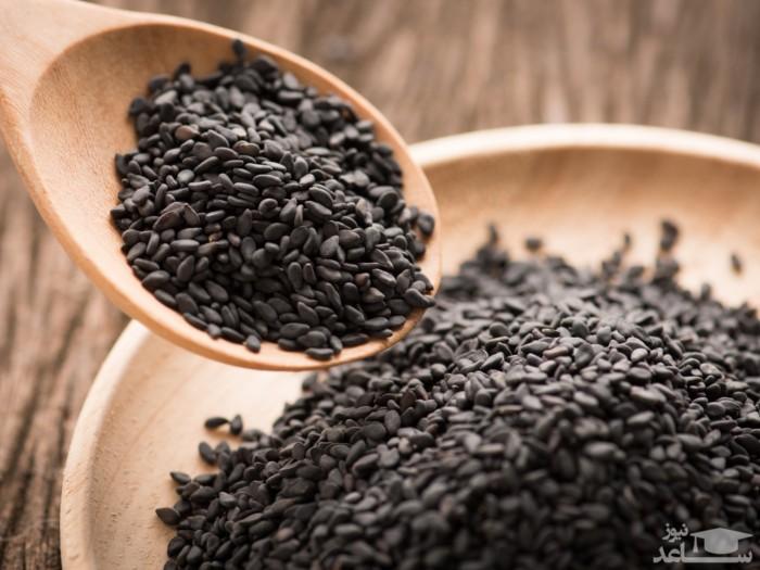 10 خاصیت مفید کنجد سیاه