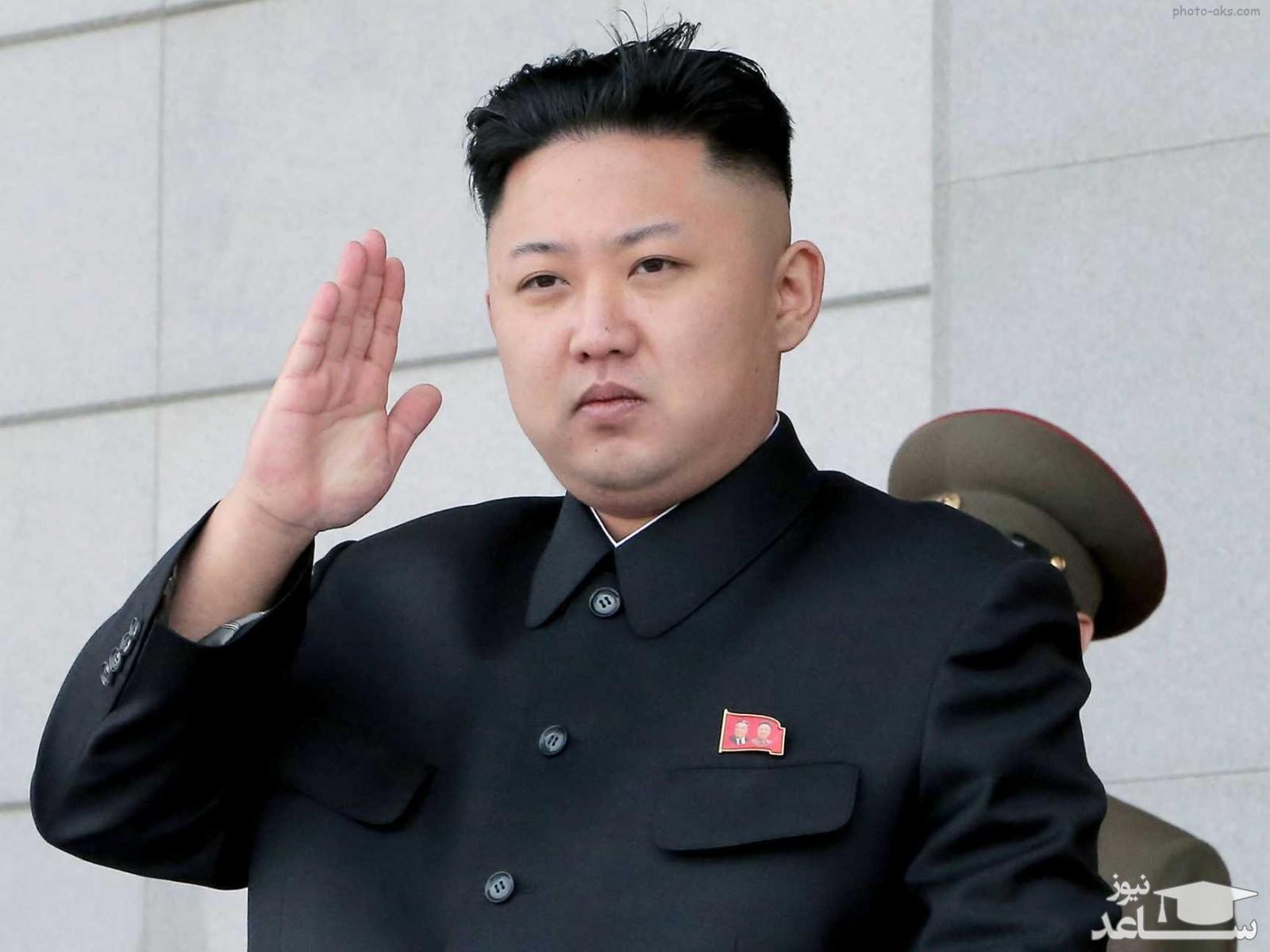 آخرین تصاویر از رهبر کره شمالی با سر بانداژ شده