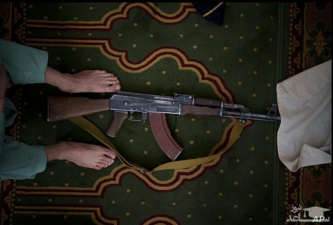 حضور نیروهای طالبان در نماز جمعه شهر کابل