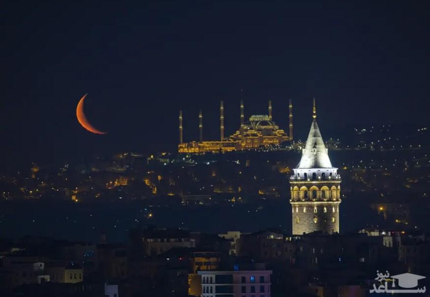 هلال ماه در استانبول