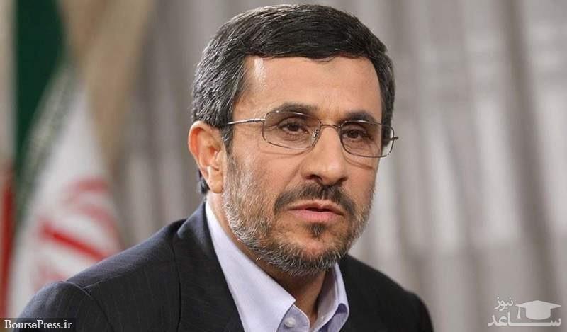 (عکس) احمدی نژاد و حسین شریعتمداری دیروز در مسجدجامع نارمک
