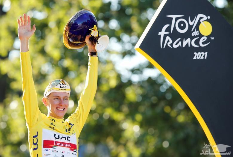 برنده مسابقات دوچرخه سواری
