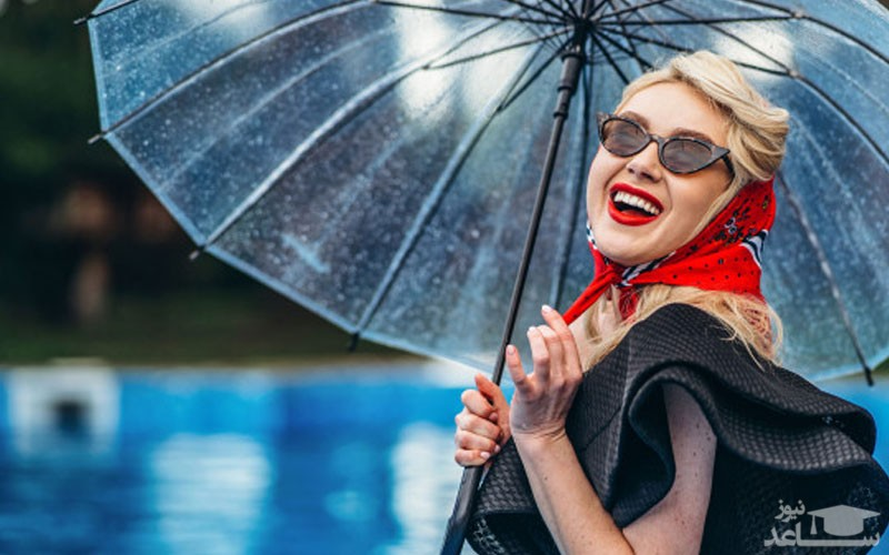 رعایت چند نکته ی مهم آرایشی در روز های بارانی