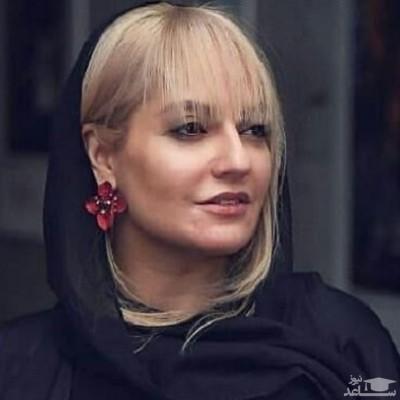 تیپ عجیب مهناز افشار در عکس آسانسوری
