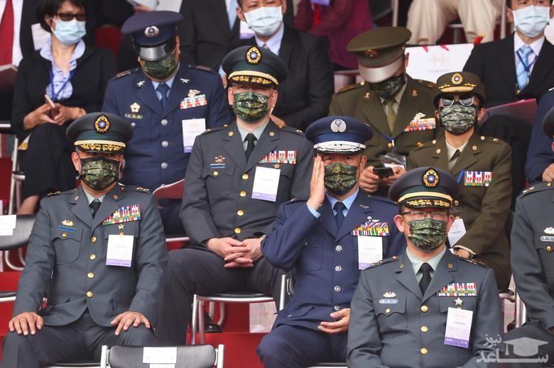 مراسم روز ملی تایوان/ رویترز