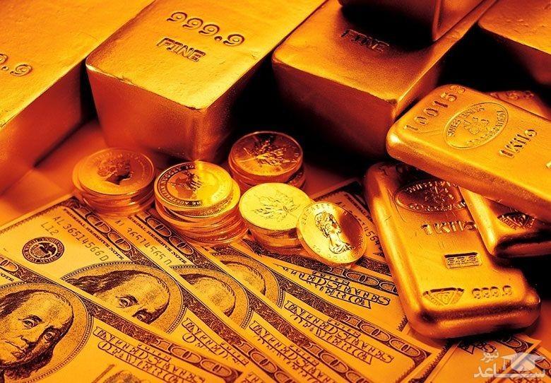 قیمت دلار ، سکه و طلا امروز 26 فروردین 98 ، دوشنبه 98/01/26 + جدول