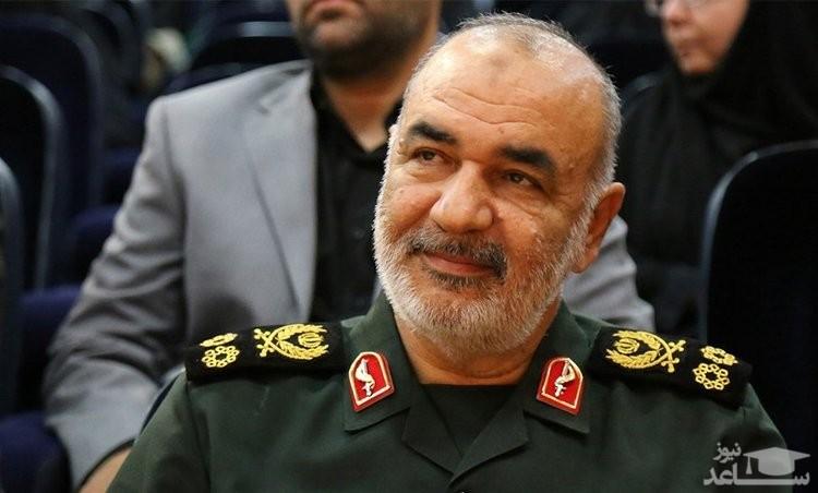 سردار سلامی:ناوهای دشمن دیگر در هیچ جا امنیت ندارد