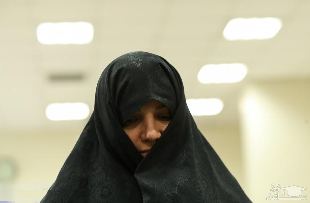 چادری شدن دختر مظلوم وزیر سوژه شد +عکس