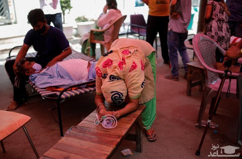 وضعیت بیماران کرونایی در هند