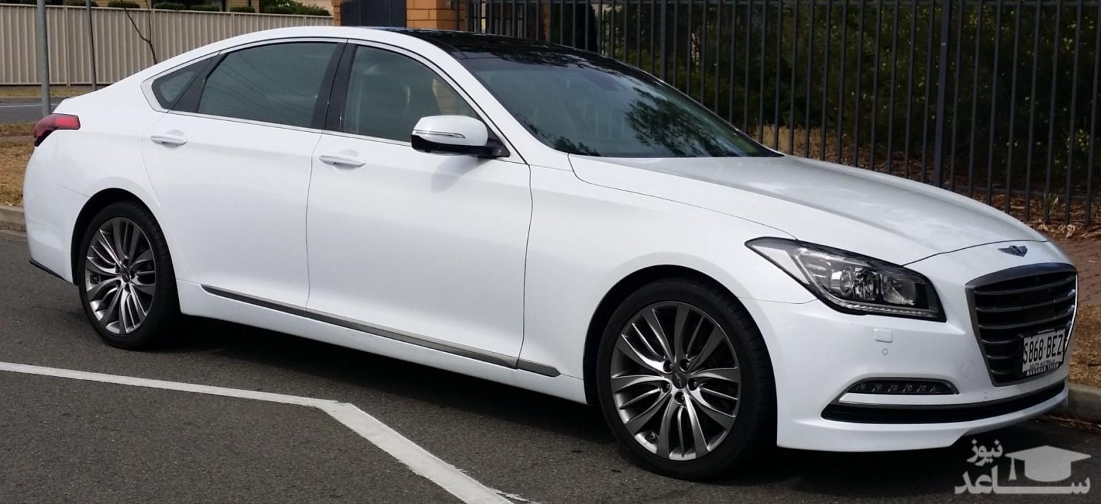 مشخصات فنی و امکانات خودروی هیوندای جنسیس