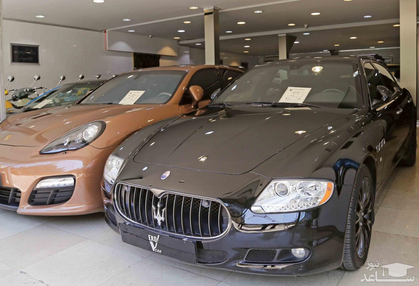 مالیات خودروهای لوکس اعلام شد