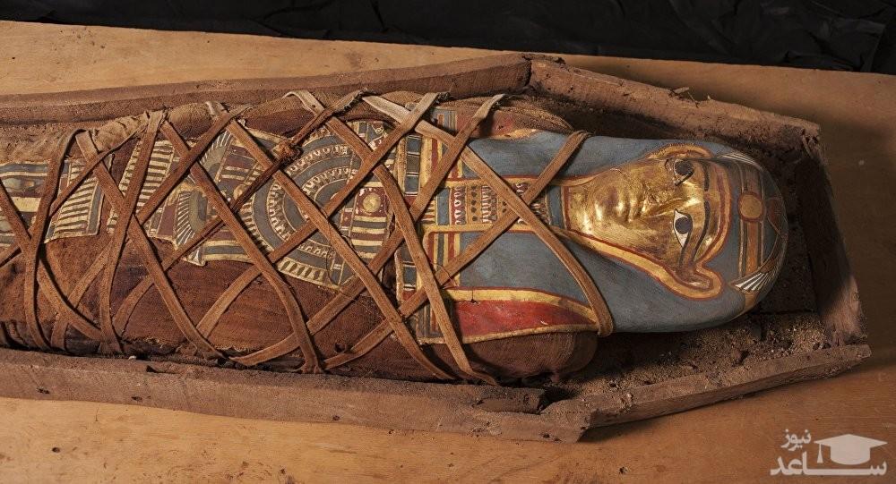 حرف زدن یک مومیایی پس از 3000 سال! +فیلم