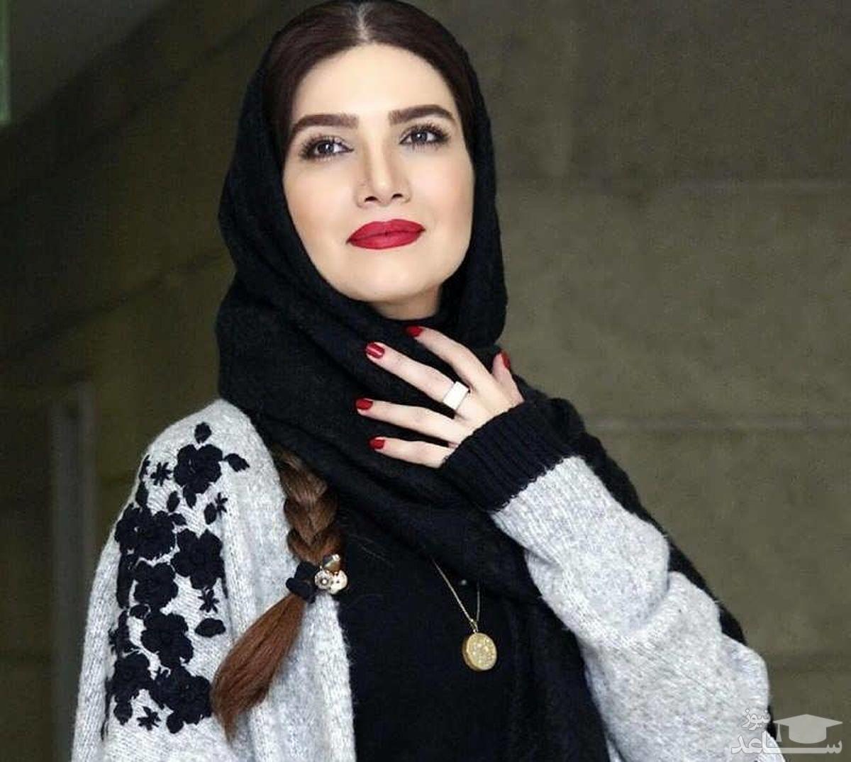 جذاب ترین تصویر متین ستوده با آرایش لایت