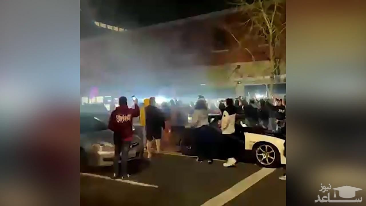 (فیلم) زیر گرفته شدن وحشیانه چند شهروند آمریکایی توسط پلیس
