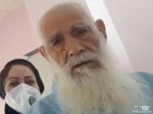 بهبود پیرمرد ۱۰۱ ساله مبتلا به کرونا در گلستان