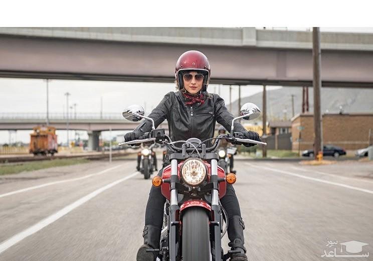 احتمال قانونی شدن موتورسواری زنان وجود دارد