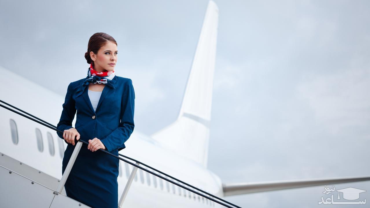 خانم مهماندار هواپیما، که نحوه مرگ خود را پیشبینی کرده بود