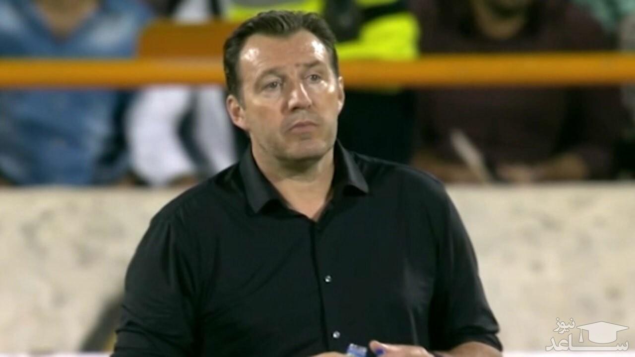 (فیلم) حواشی بی پایان سرمربی سابق تیم ملی فوتبال