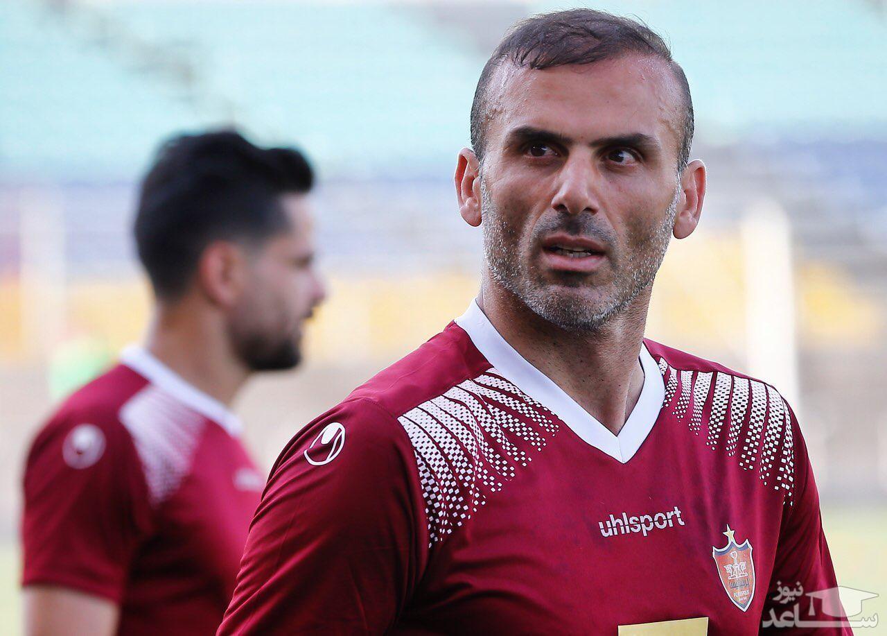 حسینی جایزه بهترین گل لیگ آسیا را گرفت