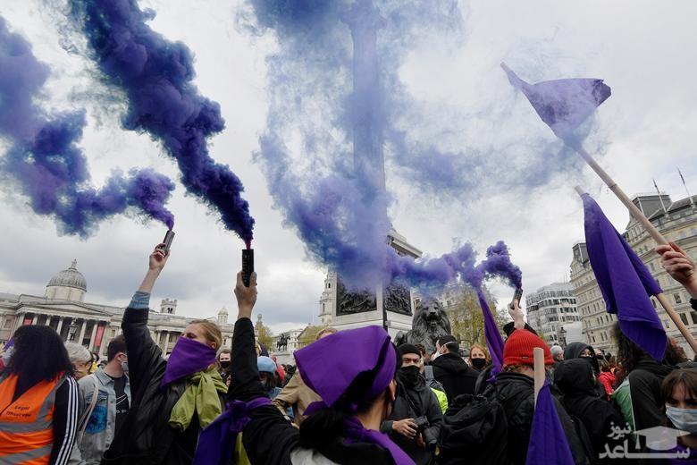 تظاهرات روز جهانی کارگر