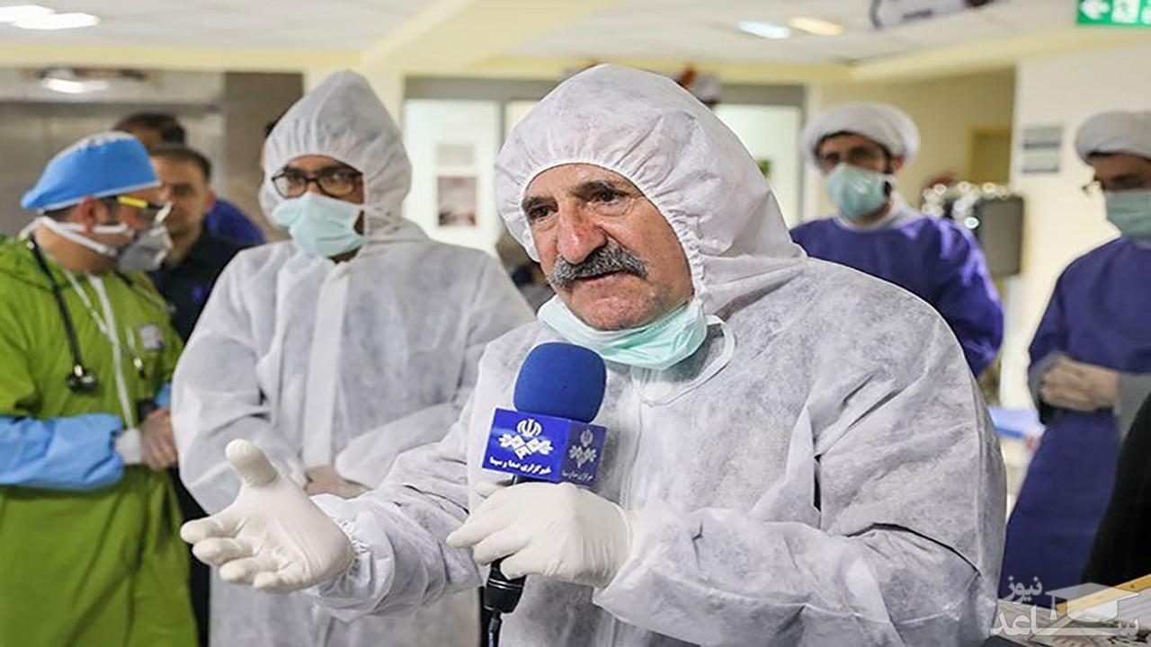 (فیلم) آخرین وضعیت مهران رجبی پس از ابتلا به ویروس کرونا